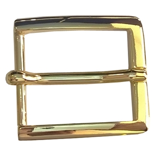30mm Belt Buckle Brass Finish