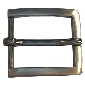 30mm Belt Buckle Gunmetal Finish