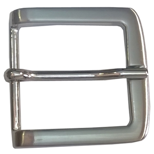 40mm Belt Buckle Nickel Finish