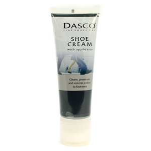 Dasco Shoe Cream With Applicator Black 75ml