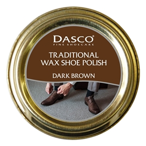 Dasco Waxed Shoe Polish Dark Brown 50ml