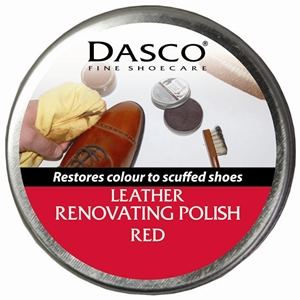 Dasco Renovating Shoe Polish Red 50ml