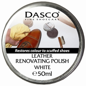 Dasco Renovating Shoe Polish White 50ml