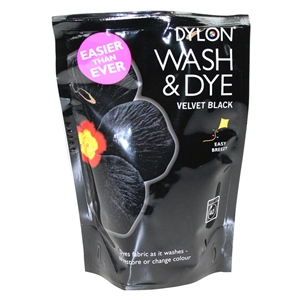 Dylon Wash And Dye Black 1 Clothes And Fabric Dye