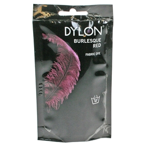 Dylon Hand Dye Sachets Burlesque Red 51 50g