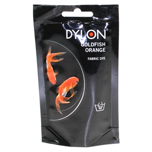 Dylon Hand Dye Sachets Goldfish Orange 55 50g