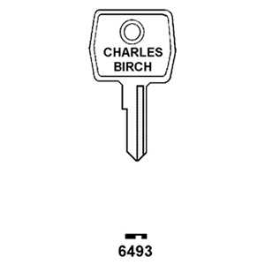 L197 Window Key Blank