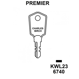 Premier Window Lock Key KWL23