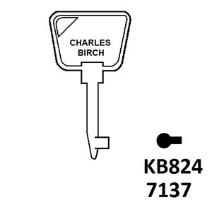 Shaw Window Lock Key