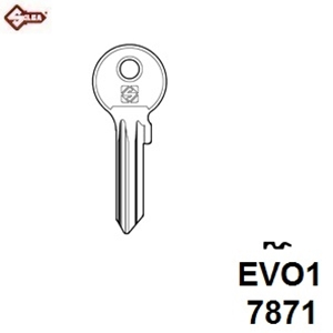 Hook 7871 MAB1 Mila Evolution 6 Pin - Brass