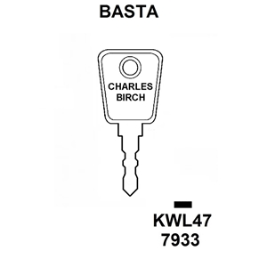Basta Window Key KWL47, HD WL068,