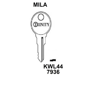 Mila Trinity Window Key KWL44, HD WL021,
