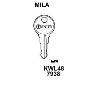 Mila Nimbus (Old Trinity) Window Key KWL48