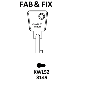 KWL52 Fab N Fix Window Key