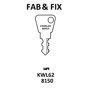 Fab N Fix 7621 Window Lock Key KWL62
