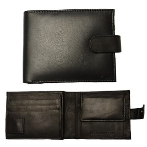Birch Gents Leather Nappa Wallet with RFID