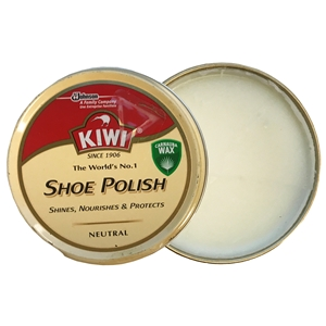Kiwi Shoe Polish Neutral, 50ml Tin