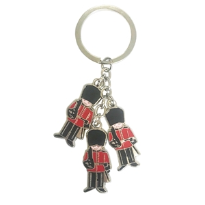 London Charm Key Ring with Three Guards