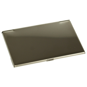 Business Card Case Shiny Stainless Steel
