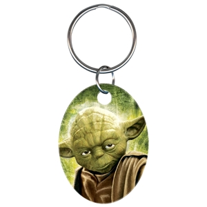 Licensed Key Ring Star Wars Yoda