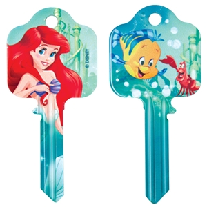 Licensed Keys - Princess Ariel Silca Ref UL054