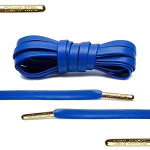 Loop King Leather Laces 114cm Royal Blue
