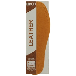 Birch Leather Insoles Gents One Size