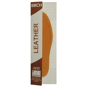 Birch Leather Insoles Ladies Size 8