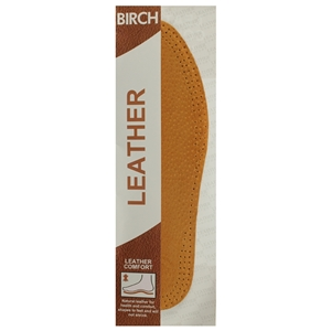 Birch Leather Insoles Gents Size 10