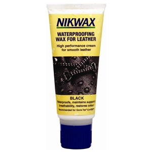Nikwax WaterProofing Wax Cream For Leather, Black 100ml