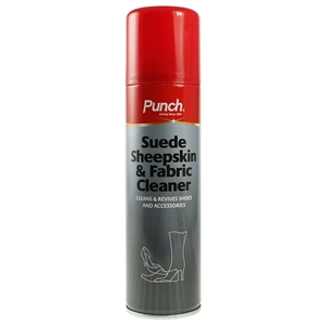 Punch Suede, Nubuck And Fabric Cleaner Aerosol 200ml