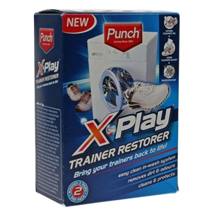 Punch X Play Trainer Restorer, 2 Washes Per Pack