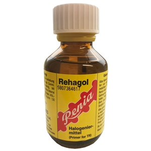 Rehagol Primer 100ml - Yellow. Label