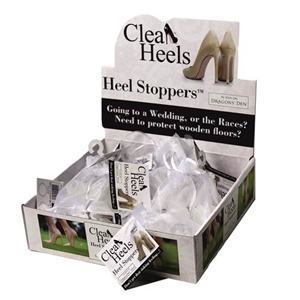 Clean Heels Heel Stoppers - (Clear) Mixed Box Of 15