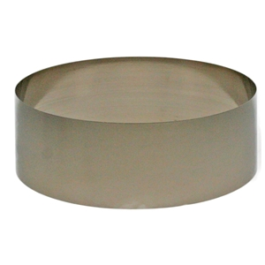 Nickel Plated Plinthband To Fit SWNP03B&4B D 107mm H 43mm