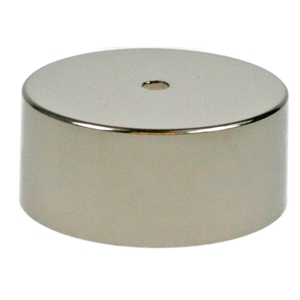 Nickel Plated Covered Plinth Band Fit SWNP02C/2D D125mm H50