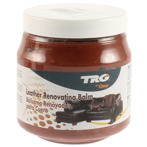 TRG Leather Renovating Balm 300ml Cognac
