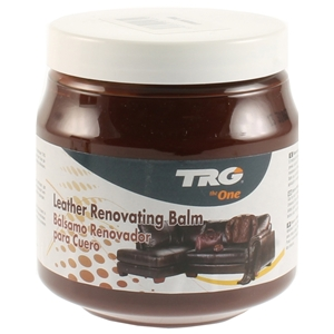 TRG Leather Renovating Balm 300ml London Tan