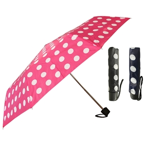Super Mini Large Spot Umbrella Assorted - Box Of 12