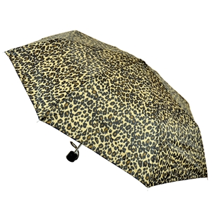 Super Mini Leopard Print Umbrella - Box Of 12