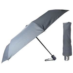 Superior Super Mini Fully Auto Umbrella, Grey