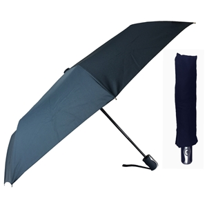 Superior Super Mini Fully Auto Umbrella, Navy Blue