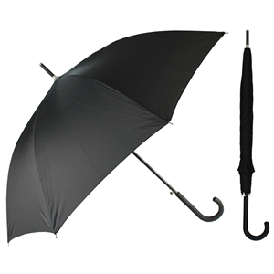 Superior Ladies Auto Walking Umbrella Black