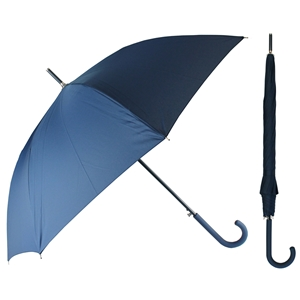 Superior Ladies Auto Walking Umbrella Navy Blue