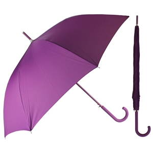 Superior Ladies Auto Walking Umbrella Purple