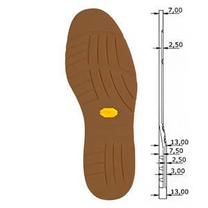 Vibram 1690 Rubber Boot Slider Kit