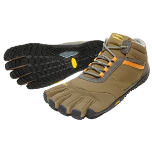 FiveFingers Trek Ascent Gents Insulated Size 41 UK 7 Khaki/Orange - 15M5301