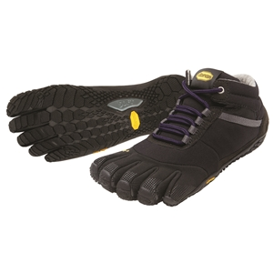 FiveFingers Trek Ascent Ladie Insulated Size 39 UK 6 Black - 15W5303