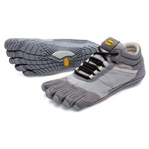 FiveFingers Trek Ascent Ladie Insulated Size 42 UK 8 Grey - 18W5301