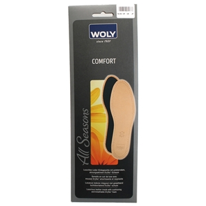 Woly Comfort Leather Insole Size 3